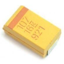 10x Condensador Tantalio SMD 10uF 16V T491A106K016AT un caso ± 10/% Kemet