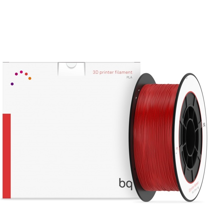PLA175-P485C bq - Bobina PLA Premium BQ 1 75 mm - Pantone